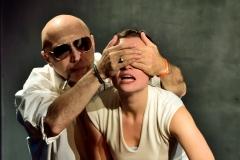 Divadlo Kámen - scéna ze hry